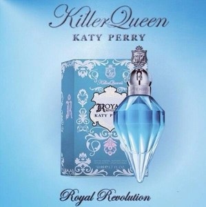 "Royal Revolution, a BLUEtiful fragrance with a ""Killer"" edge"