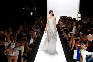 Carmen Marc Valvo's Sigh-Worthy Runway SP/S2015 + Video @CarmenMarcValvo , #Fashion, #Runway, #NYFW