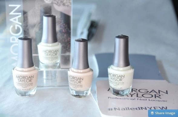 morgan taylor nail polish fashion week