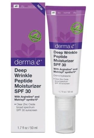 Derma E dep wrinkle peptide moisturizer SPF 30