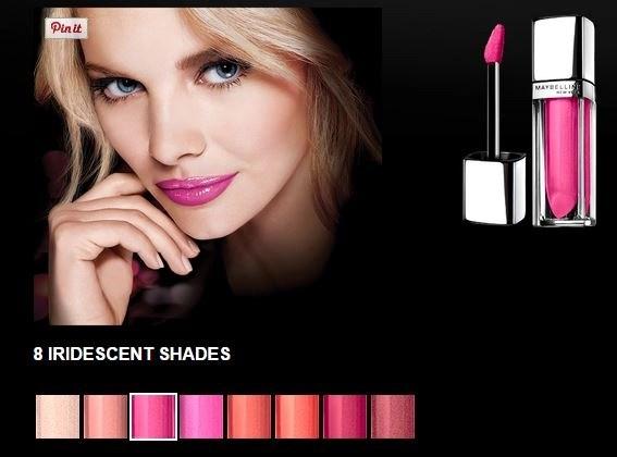 color sensational glistening iridescent