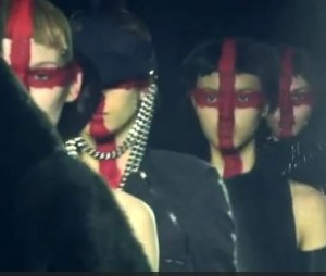 The Bold & the Beautiful! Gareth Pugh and Holly Fulton M-A-C Cosmetics @MACcosmetics, #LondonFashionWeek, #Fashion, #Beauty