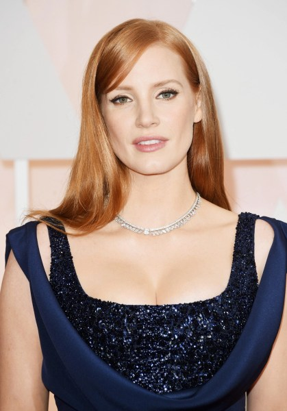 Jessica Chastain by @Kristoferbuckle for Kiehl's-Oscar beauty @Kiehls, #Oscars2015, #beauty