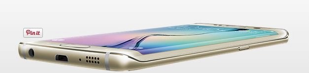 Samsung Galaxy S6 side view