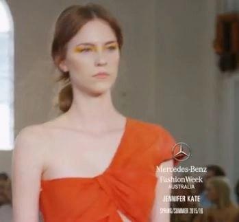 Jennifer Kate's Australia Fashion Week SS 2016 runway show video #MBFWA, #FashionWeekAustralia