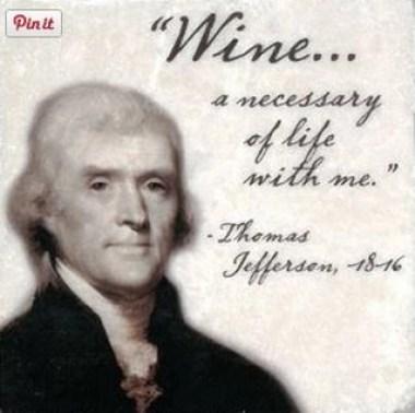 jefferson quote on wine