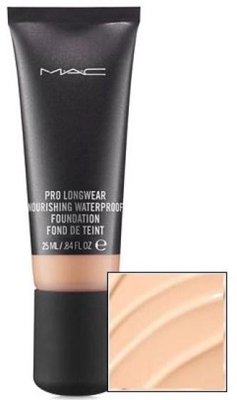 mac pro longwear nourishing foundation tube
