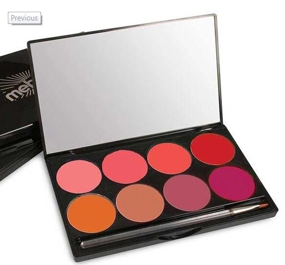 mehron lip palette day