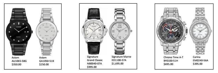 Citizen watch pairs group2
