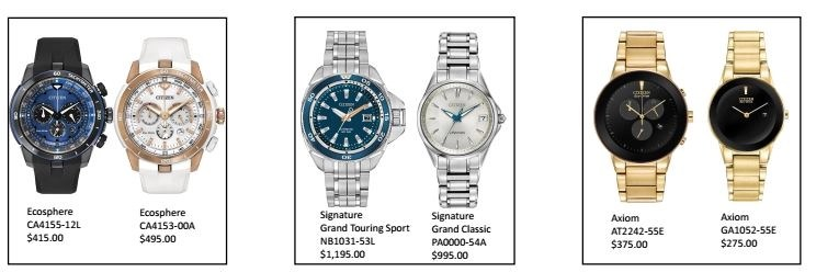 citizen watch pairs group3