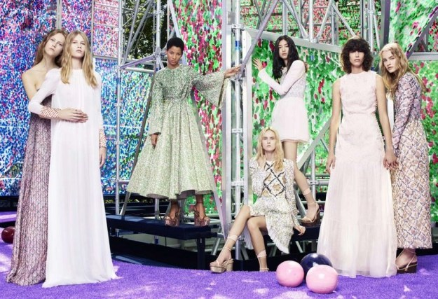 garden of earthly delights fall winter 2015-2916 show by Dior Haute Couture