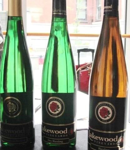 lakewood vineyard riselings
