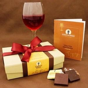 shcarfenberger wine and chocolate pairing set