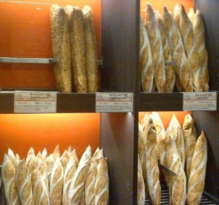 Eric Kayser boulangerie bread display