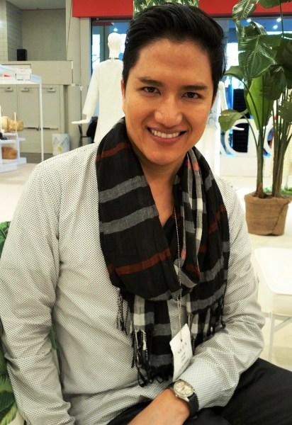 fashion designer Julian Chang