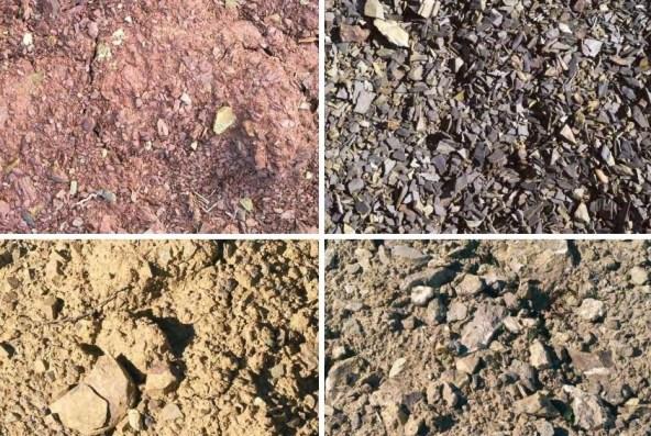 the soil in Montalcino