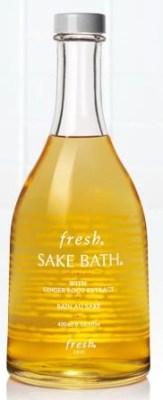 sake bath by fresh