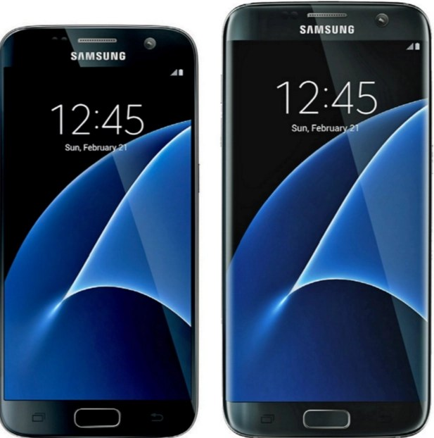 The Samsung Galaxy S7 and the S7 Edge