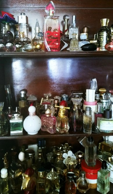 some of alison blackman's perfume collection