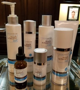 dr. Mark Scwartz's range of skincare products
