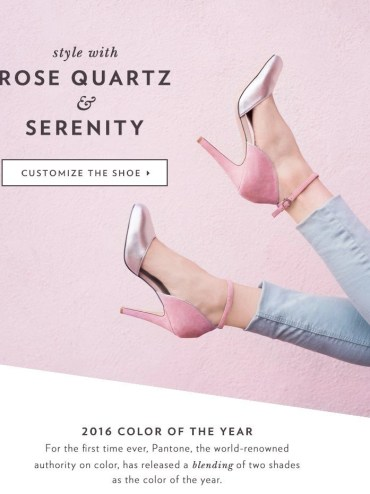 roe quartz serenity shoes of prety