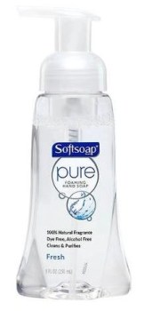 Softsoap Pure Foaming Hand Wash Fresh