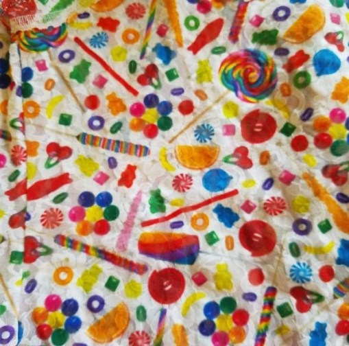 close up of dylans candy bar hanky panky fabric design