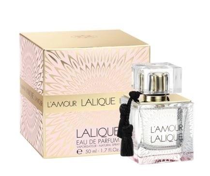 L'Amour Lalique eau de parfum with box