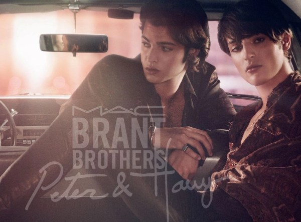 The Brant Brothers, obviously, in a car (for MAC COSMETICS)
