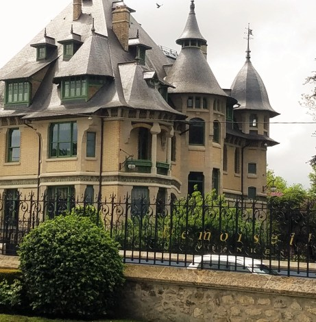 the lovely Villa Demoiselle at Pommery