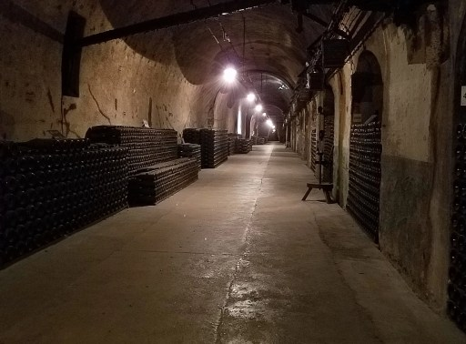 caves at Pommery