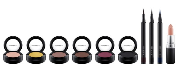 MAC Cosmetics Its a Strike Makeup Collection eye shadows and liners