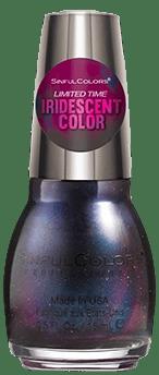 liquid iris nail polish limiited edition sinful colors