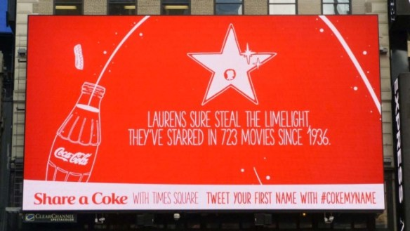 Coca Cola DOOH Advertising