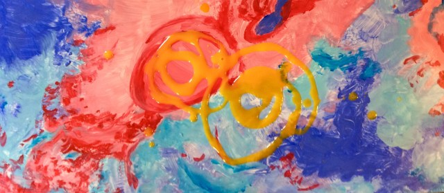 Abstraction painting wip2