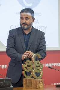 El periodista científico y socio AECC, Antonio Martínez Ron, recibió el premio Concha García Campoy 2017.