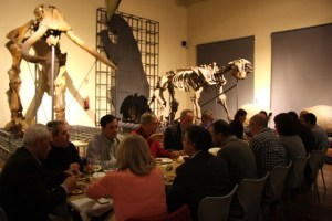 En diciembre de 2015 la AECC y el MNCN en Madrid organizaron el primer Banquete del Megaterio.