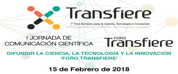 Jornada de Comunicacion Cientifica Transfiere slide