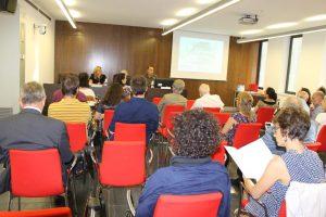 Aspecto de la sala donde tuvo lugar el acto de presentación oficial del Informe Quiral. Foto: Carolina Llorente