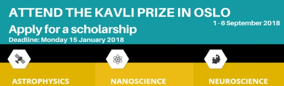 Premio Kavli 2018 home