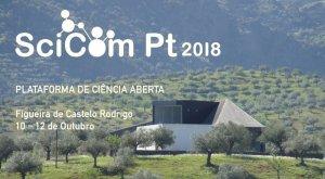 El sexto congreso de la asociación de comunicación de la ciencia portuguesa será del 10 al 12 de octubre de 2018.