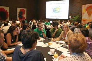 Consulta ciudadana Clima y Energía. Proyecto World Wide Views. Madrid, Caixa Forum, 6 de junio de 2015.