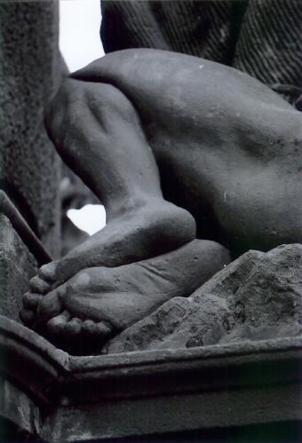 Sculpted Feet