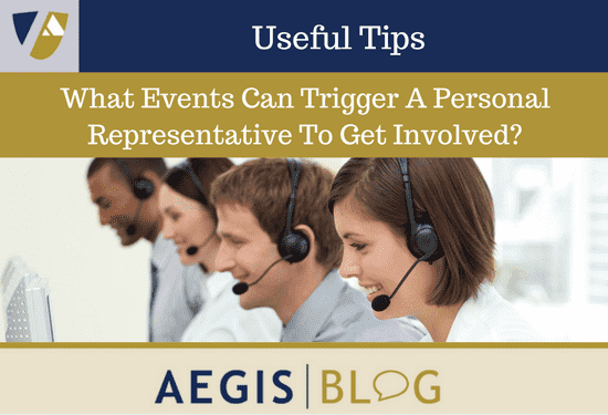 What Events Can Trigger A Personal Representative To Get Involved-