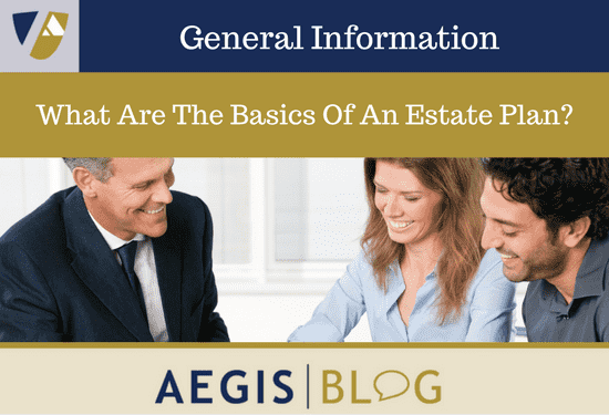 What are the Basics of an Estate Plan-