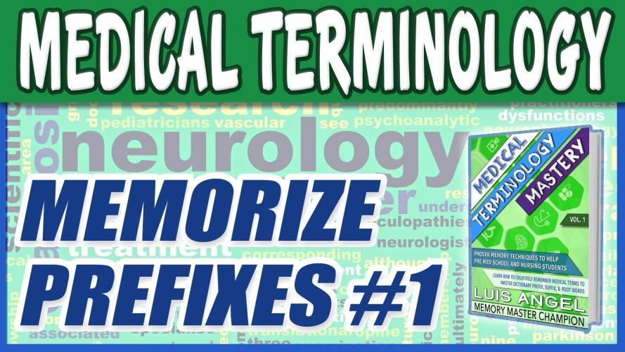Medical Terminology Prefixes 1