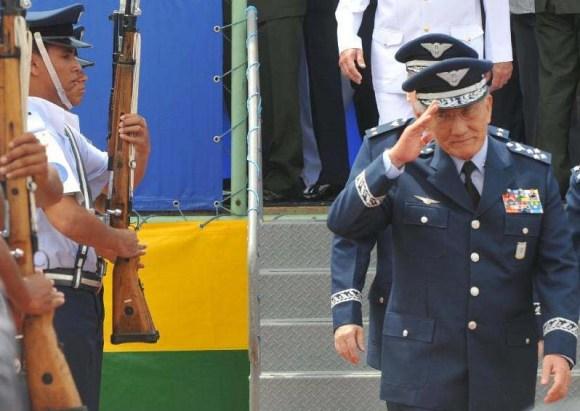 Comandante da  Aeronáutica Juniti Saito - foto Agência Brasil