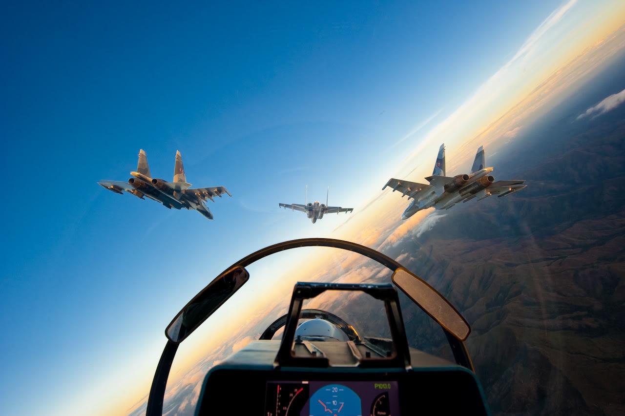 Cazas de Venezuela pueden haber invadido el espacio aéreo brasileño Su-30MKV