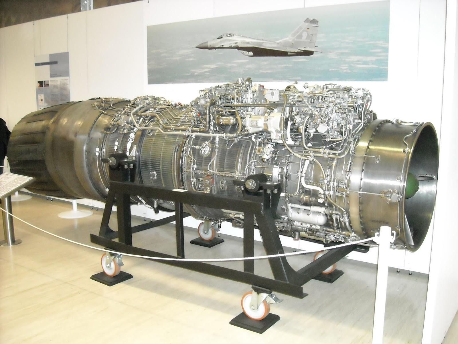 Klimov_RD-33_turbofan_engine