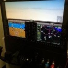 G1000, redbird, simulator